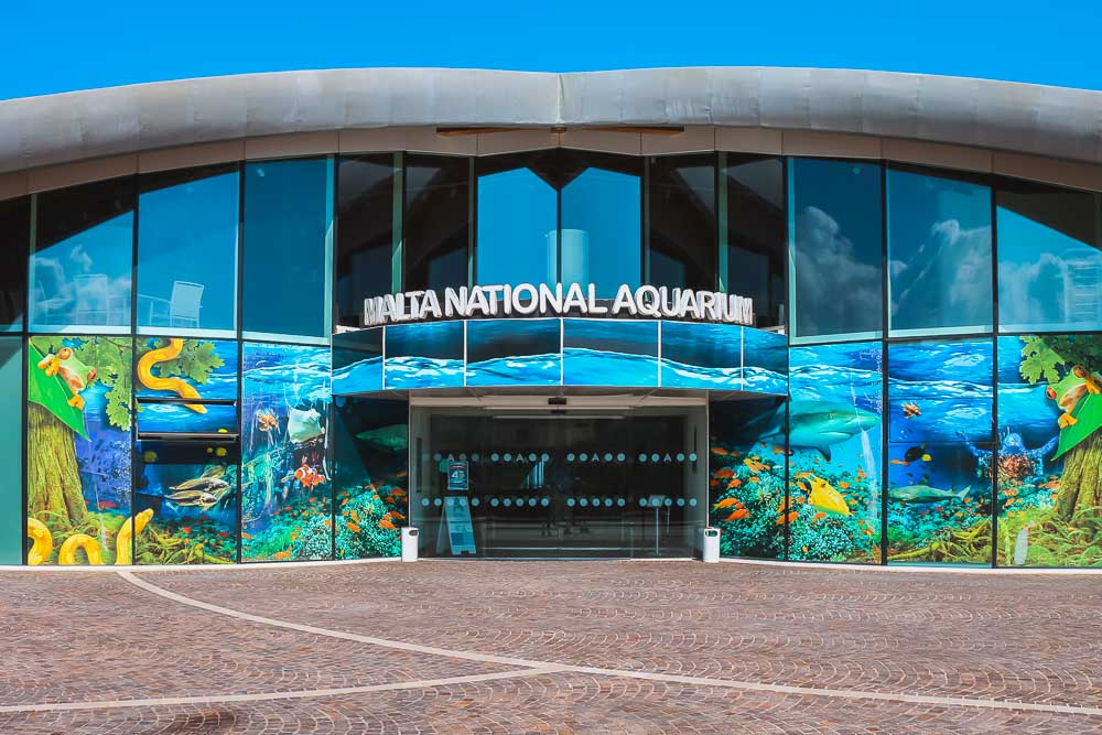 National Aquarium in Malta